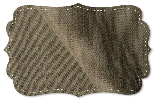 Leinen - 138 cm - uni - desert