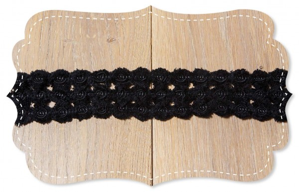 Chenille Band Tortosa black
