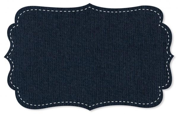 Sweat Stoff - uni - navy blazer
