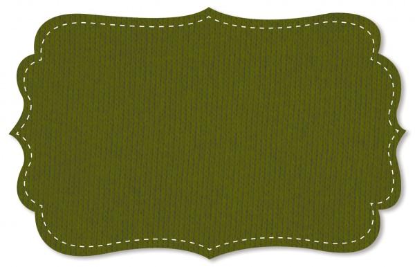Sweat Stoff - uni - cedar green