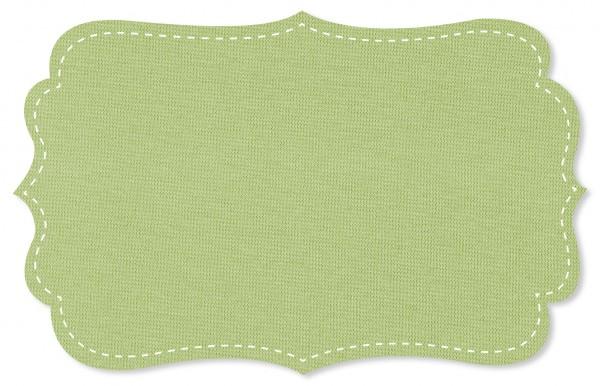 Bündchenware Rib 1x1 Stoff - uni - shadow lime