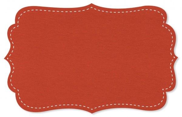 Bündchenware Rib 1x1 Stoff - uni - mandarin red