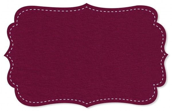 Single Jersey Stoff - uni - raspberry radiance