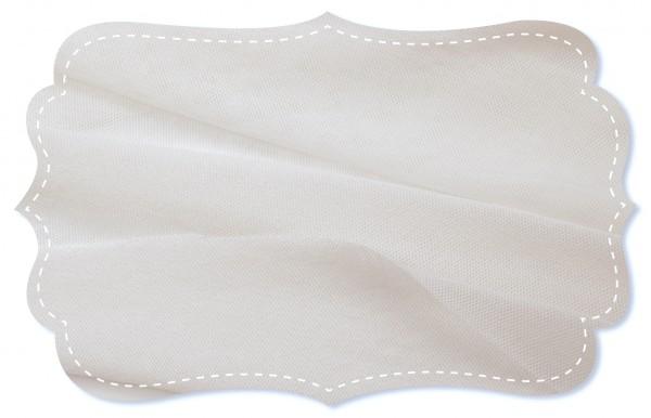 Soft Tüll Stoff - uni - optical white