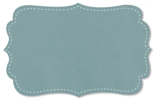 Popeline fein Stoff - uni - cloud blue