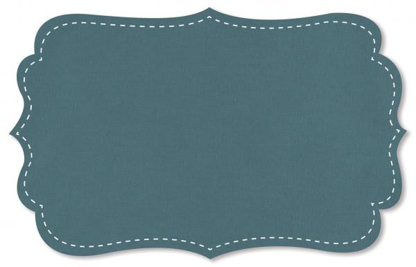 Popeline fein Stoff - uni - smoke blue