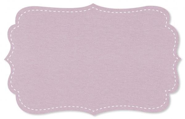 Bündchenware Rib 1x1 Stoff - uni - lavender frost