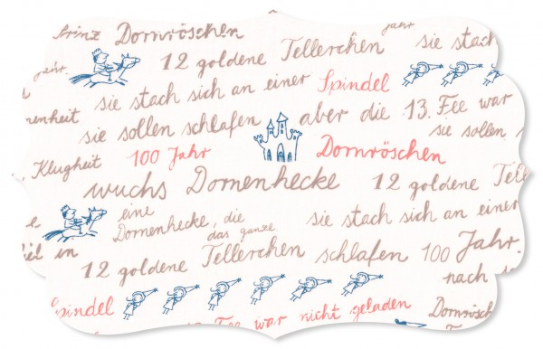 Voile Stoff - Märchengeschichte