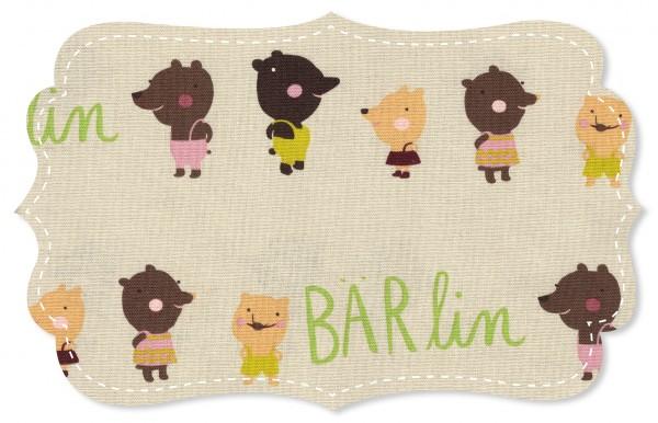 Canvas Stoff - Bärlin