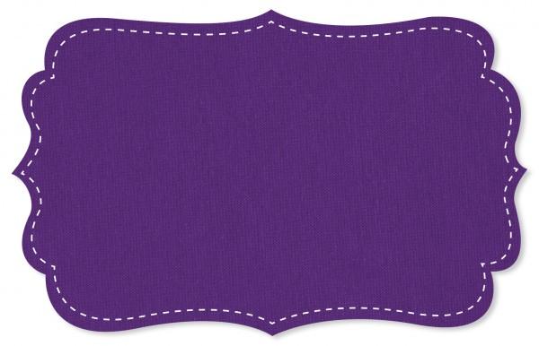 Interlock Stoff - uni - tilandsia purple