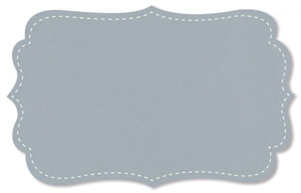 Popeline fein Stoff - uni - pearl blue