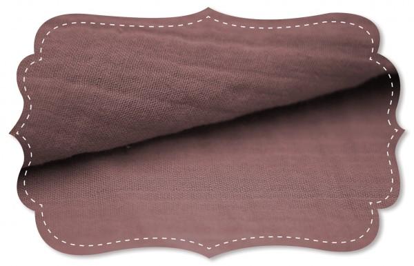 Musselin - uni - deco rose