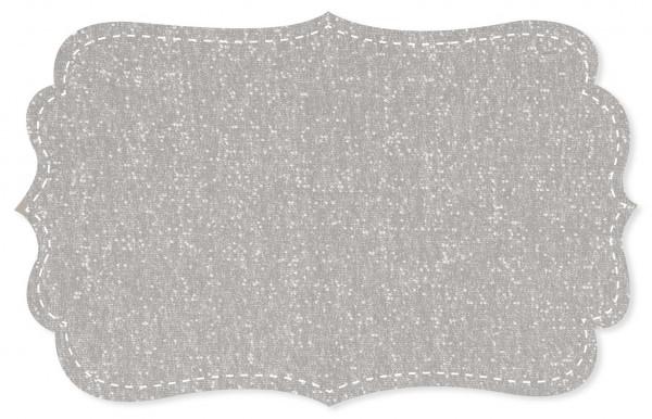 Sweat Stoff - meliert - alloy grey
