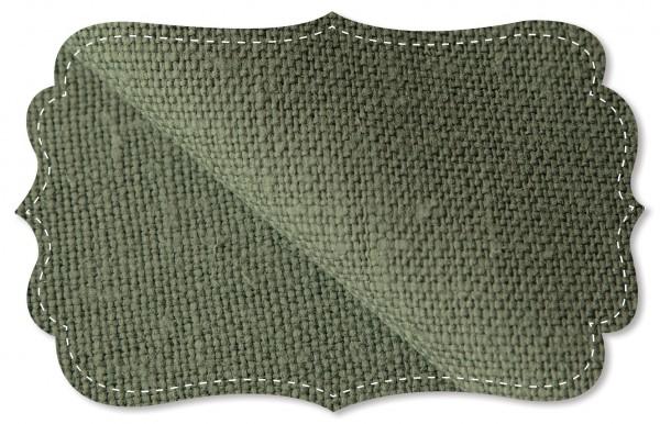 Leinen - 138 cm - uni - olive