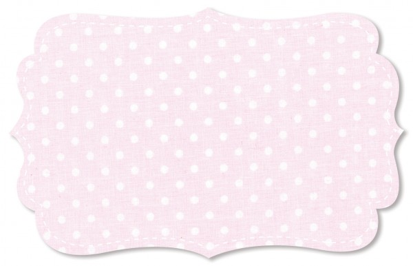 Popeline fein Stoff - mittelgroße Punkte wasserabweisend beschichtet - blushing bride/weiß