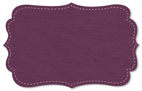 Strickfrottee Stoff - uni - purple passion