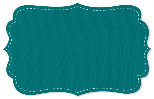 Bündchenware Rib 1x1 Stoff - uni - pagoda blue