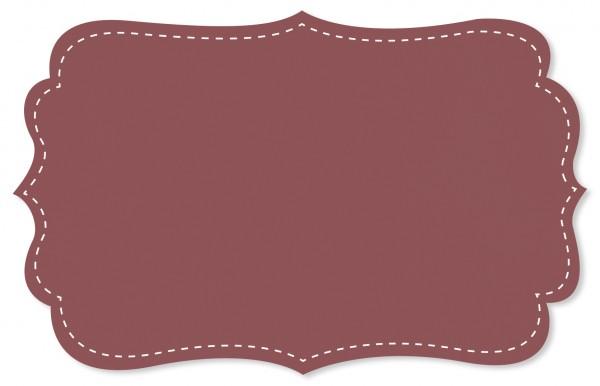 Voile Stoff - uni - deco rose
