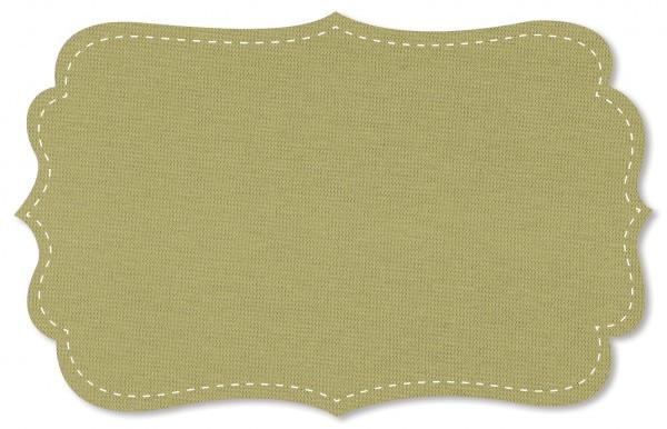 Bündchenware Rib 1x1 Stoff - uni - slate green
