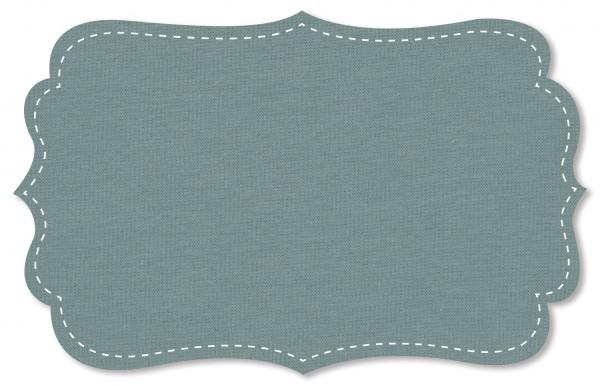 Interlock Stoff - uni - cloud blue