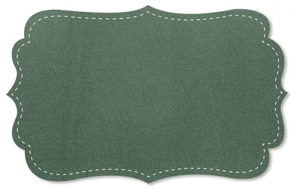Wollstoff - uni - ivy green
