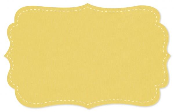 Interlock Stoff - uni - chardonnay
