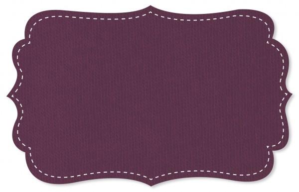 Sweat Stoff - uni - purple passion