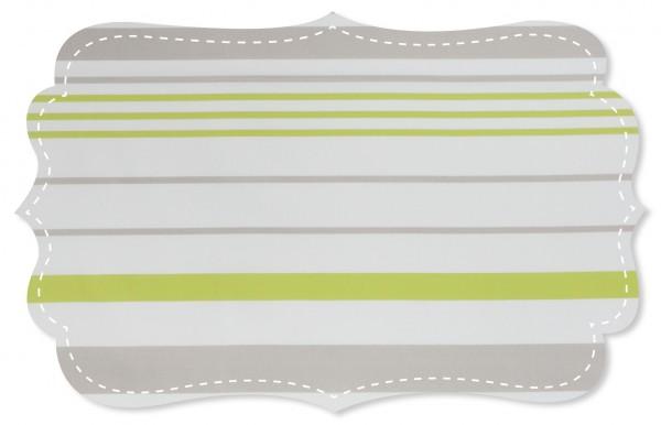 Popeline fein Stoff - New York stripes