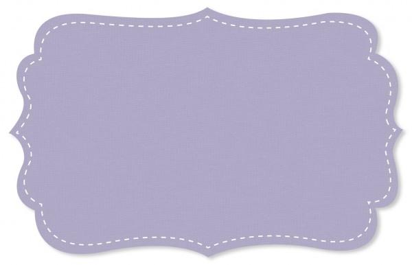 Interlock Stoff - uni - lavender aura