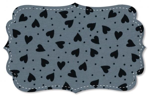 Interlock Stoff - heartbeats black
