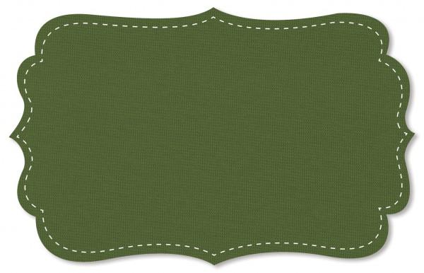 Bündchenware Rib 1x1 Stoff - uni - cedar green