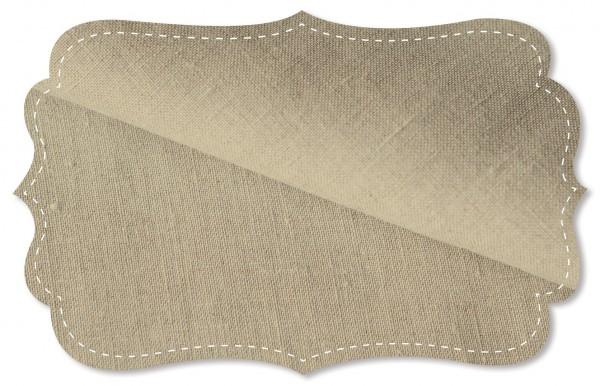 Leinen - 140 cm - uni - flax