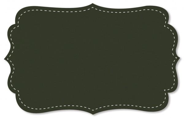 Bündchenware Rib 1x1 Stoff - uni - kombu green