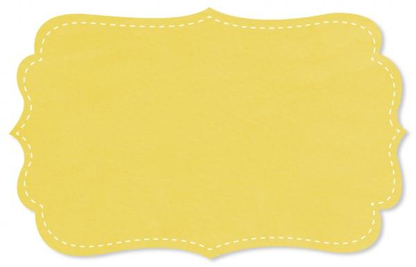 Voile Stoff - uni - yellow cream