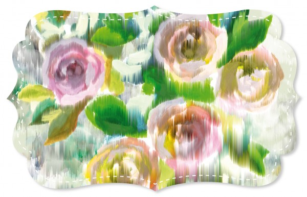Cotton Lawn Stoff - Cassis